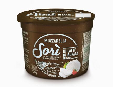 Mozzarella Sorì di latte di Bufala FROZEN