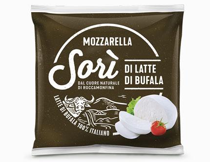 Mozzarella Sorì di latte di Bufala