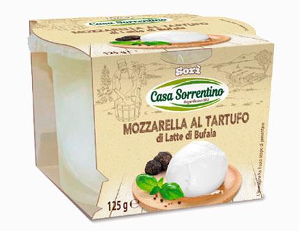 Mozzarella di latte di Bufala al Tartufo
