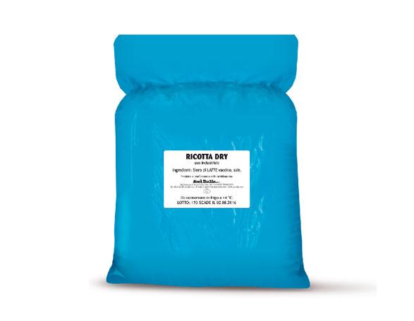 Ricotta Dry vaccina sacchi 5/10kg