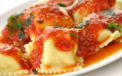 Raviolo con mozzarella di bufala campana DOP